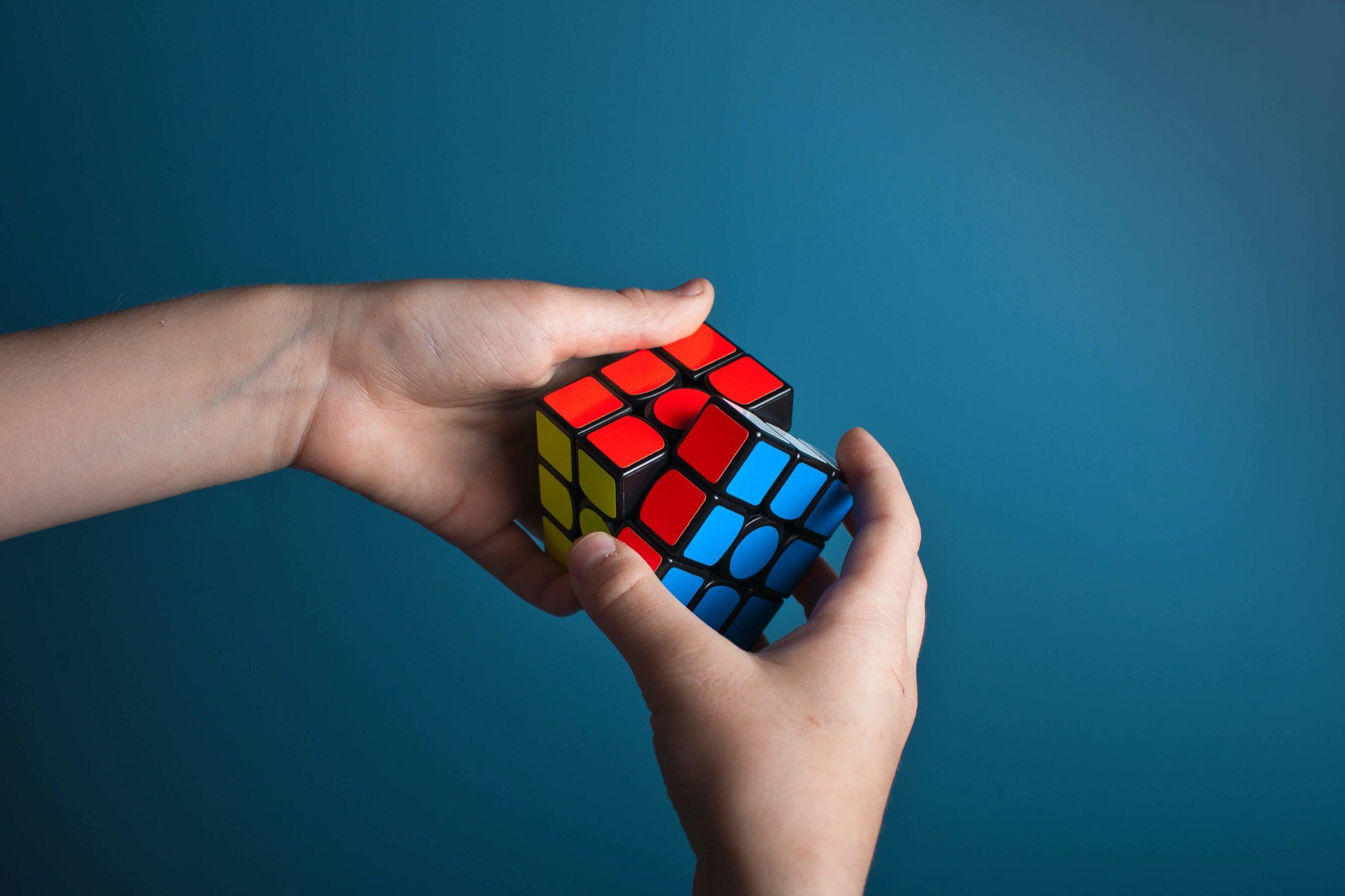 Work Smarter Rubix Cube